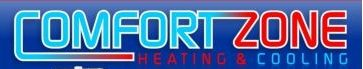 Comfort Zone Heating & Cooling Inc